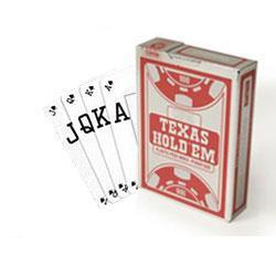 Copag Texas Hold'em - Silver Peek (Rød)